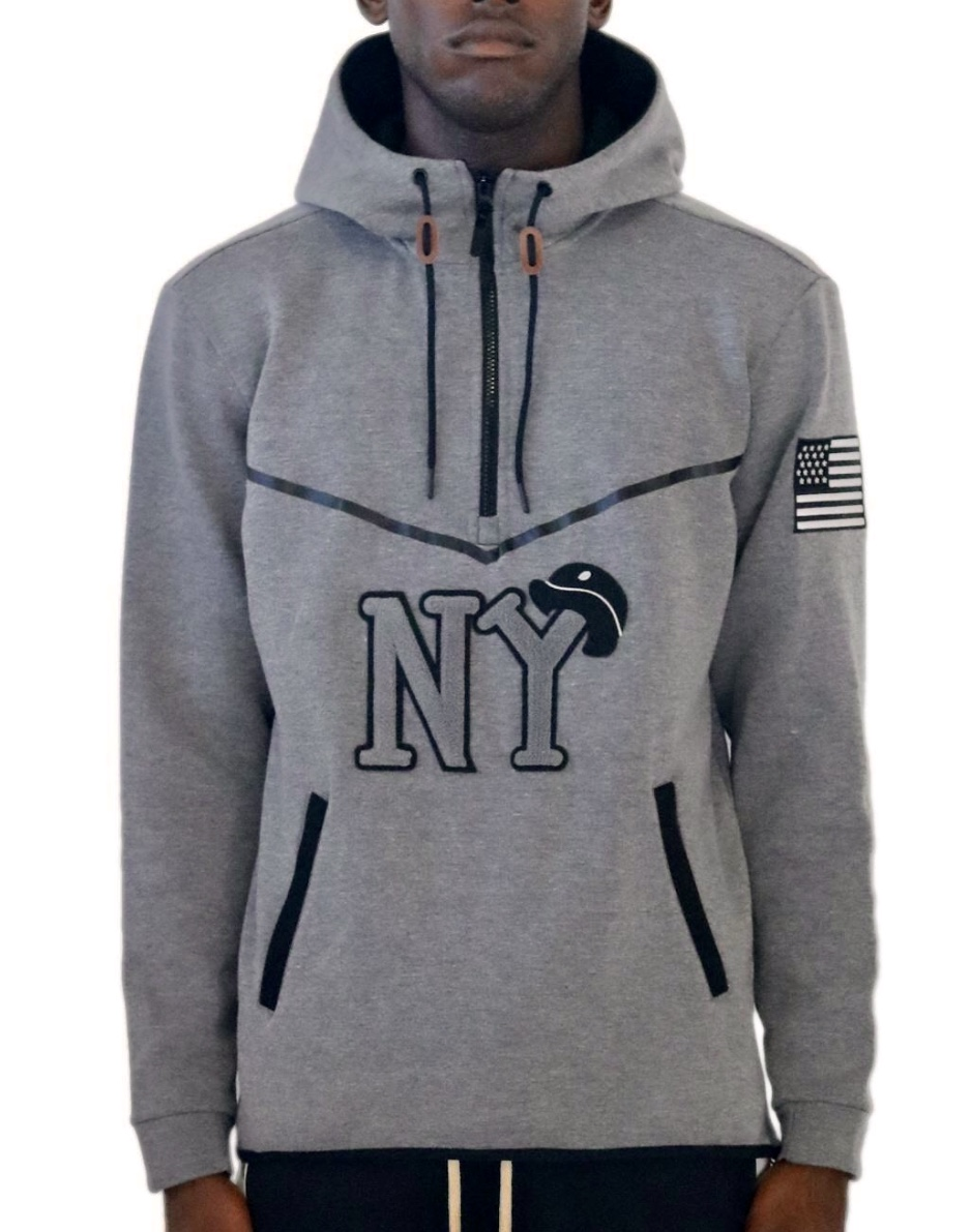 "new arrival fd145 3bc9d Stall & Dean ""Negro League"" Hoodie Black Yankees - Fresh and ..."