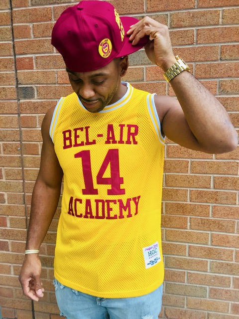 """new product bdf25 5c076 Bel-Air Academy """"Will Smith"""" Jersey"""